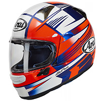 Arai Profile V Rock Helmet Blue Red