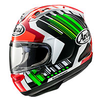 Arai Rx-7v Replica Rea Green