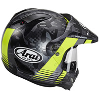 Arai Tour-x 4 Cover Helmet Yellow Fluo