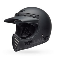 Bell Moto 3 Classic Blackout Helmet Matt Black