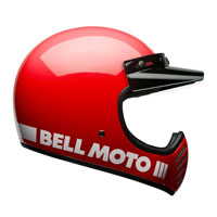 Bell Moto-3 Classic Rosso