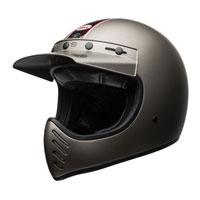Bell Moto-3 Independent Titanium Opaco