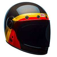 Bell Casco Bullitt Carbon Chemical Candy Blk/gld