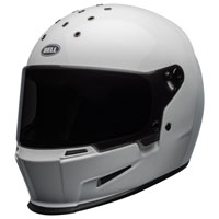 Full Face Helmet Bell Eliminator White