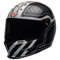 Full Face Helmet Bell Eliminator Outlaw White