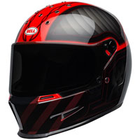 Casque Bell Eliminator Outlaw Rouge