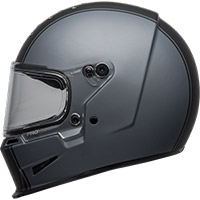 Casco Bell Eliminator Rally gris mate negro