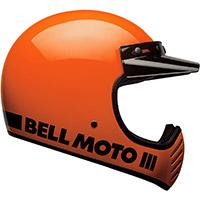 Casco Bell Moto 3 Classic Arancio Fluo