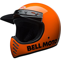 Bell Moto 3 Classic Helmet Fluo Orange