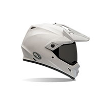 Bell Mx-9 Adventure Solid White