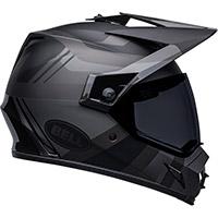 Bell Mx-9 Adv Mips Blackout Helmet Black
