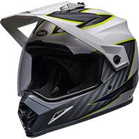 Bell Mx-9 Adv Mips Dalton Helmet White Yellow