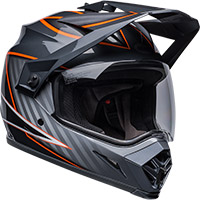 Bell Mx-9 Adv Mips Dalton Helmet Black Orange