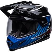 Bell Mx-9 Adv Mips Dalton Helmet Black Blue
