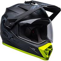 Bell Mx-9 Adv Mips Stealth Helmet Camo Black Yellow