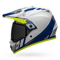 Casco Bell Mx-9 Adventure Mips Dash Blu