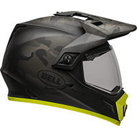 Casque Bell Mx-9 Adventure Stealth Camo Jaune