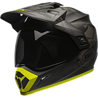 Casco Bell MX-9 Adventure Stealth camo amarillo