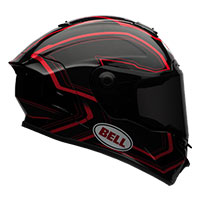 Bell Star Pace Nero-rosso