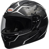 Casco Bell Qualifier Stealth camo negro blanco