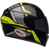 Casco Bell Qualifier Flare negro fluo amarillo