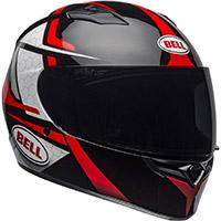 Casco Bell Qualifier Flare negro rojo