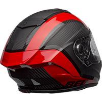 Casco Bell Race Star Flex Dlx Tantrum2 Rosso - 4