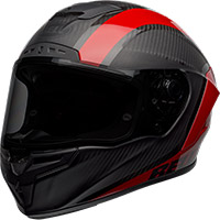 Casco Bell Race Star Flex DLX Tantrum2 rojo