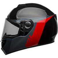 Bell SRT Razor Helm schwarz grau rot - 3