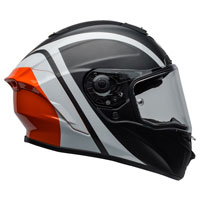 Full Face Helmet Bell Star Mips Tantrum Orange