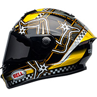 Casco Bell Star Dlx Mips Isle Of Man Giallo