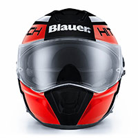 Blauer Force One 800 Helmet White Red