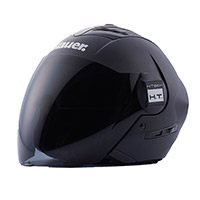 Casco Blauer Real Monochrome Nero Opaco