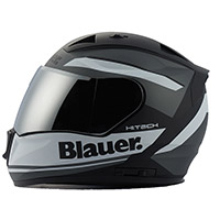 Blauer Sniper Graphic A Helmet Black Matt White