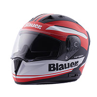 Blauer Sniper Graphic A Helmet Black Matt Red