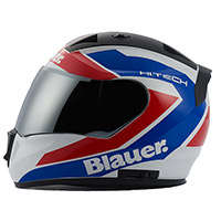Blauer Sniper Graphic B Helmet White Red Blue