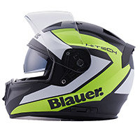 Blauer Sniper Graphic B Helmet Black Matt Yellow