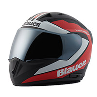 Blauer Sniper Graphic B Helmet Black Matt Red