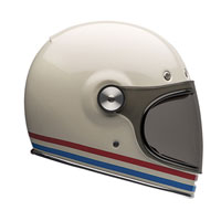 Bell Bullitt Stripes Vintage White
