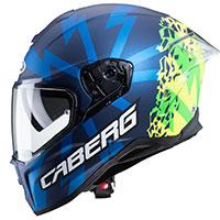 Caberg Drift Evo Storm Helmet Blue Yellow
