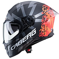Casco Caberg Drift Evo Storm Nero Arancio