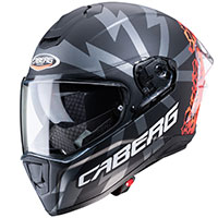 Caberg Drift Evo Storm Helmet Black Orange