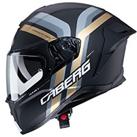 Casco Caberg Drift Evo Vertical Nero Oro