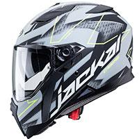 Caberg Jackal Techno Helmet Grey Fluo Yellow