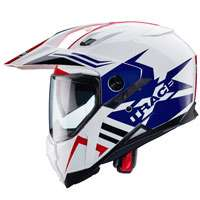 Caberg Xtrace Lux Bianco/blu/rosso