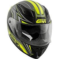 Givi 40.5 XファイバーGPヘルメット イエロー