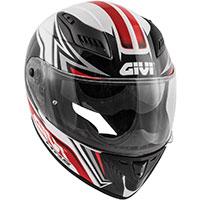Givi 40.5 XファイバーGPヘルメット レッド