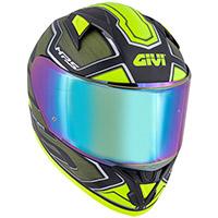 Casco Givi 50.6 Sport Deep Verde Giallo