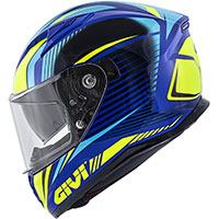 Givi 50.6 Stoccarda Helmet Blue Yellow