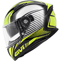 Givi 50.6 Stoccarda Helmet Black Yellow